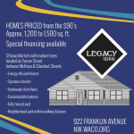 Legacy Square flyer